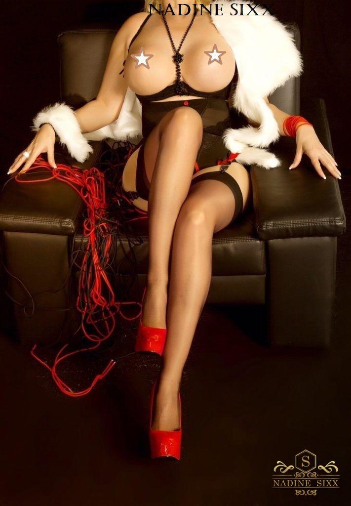 Domina Nadine SIXX rote High Heels